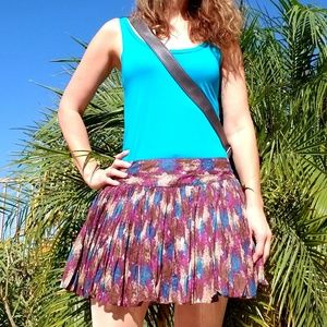 Candies fall color mini skirt